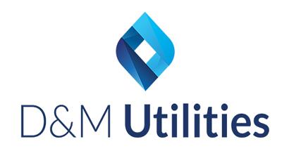D & M logo